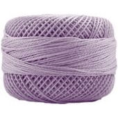 Presencia Perle 12 wt 8605 Light Antique Violet, Thread, Presencia, [variant_title] - Mad About Patchwork