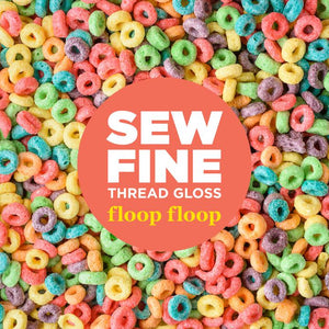 Floop Floop -  Sew Fine Thread Gloss, Notions, Sew Fine, [variant_title] - Mad About Patchwork