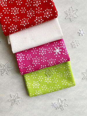 Bright Snowflakes, Box Builder, Mad About Patchwork, [variant_title] - Mad About Patchwork