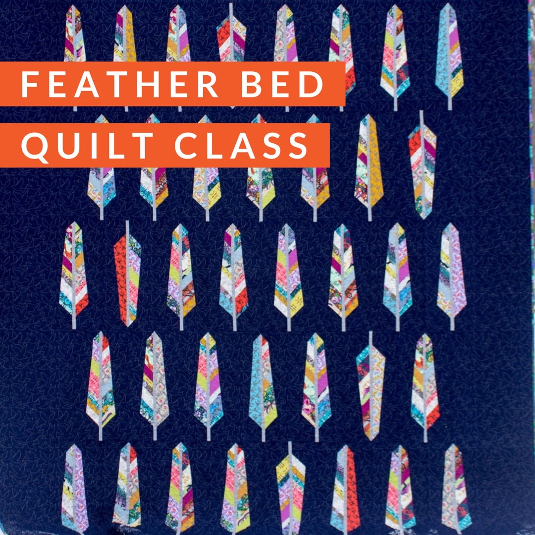 Feather Bed Quilt Class, Class, Mad About Patchwork, [variant_title] - Mad About Patchwork