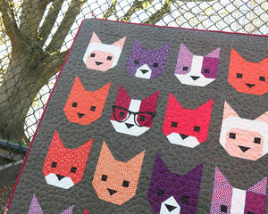 Elizabeth Hartman —The Kittens, Pattern, Elizabeth Hartman, [variant_title] - Mad About Patchwork