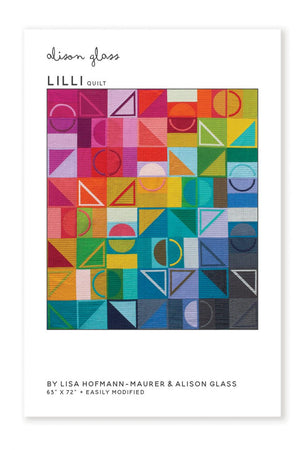 Lilli Quilt by Lisa Hofmann - Maurer & Alison Glass, Pattern, Alison Glass, [variant_title] - Mad About Patchwork