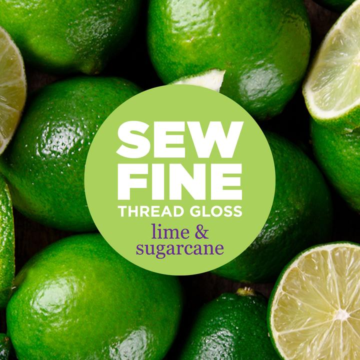 Lime and Sugarcane -  Sew Fine Thread Gloss, Notion, Sew Fine, [variant_title] - Mad About Patchwork