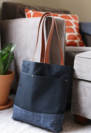 Beginner Bag Making — Wool + Wax Tote