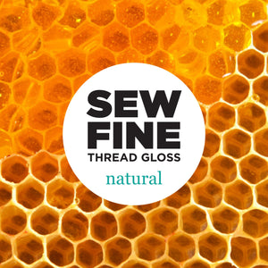 Natural -  Sew Fine Thread Gloss, Notions, Sew Fine, [variant_title] - Mad About Patchwork