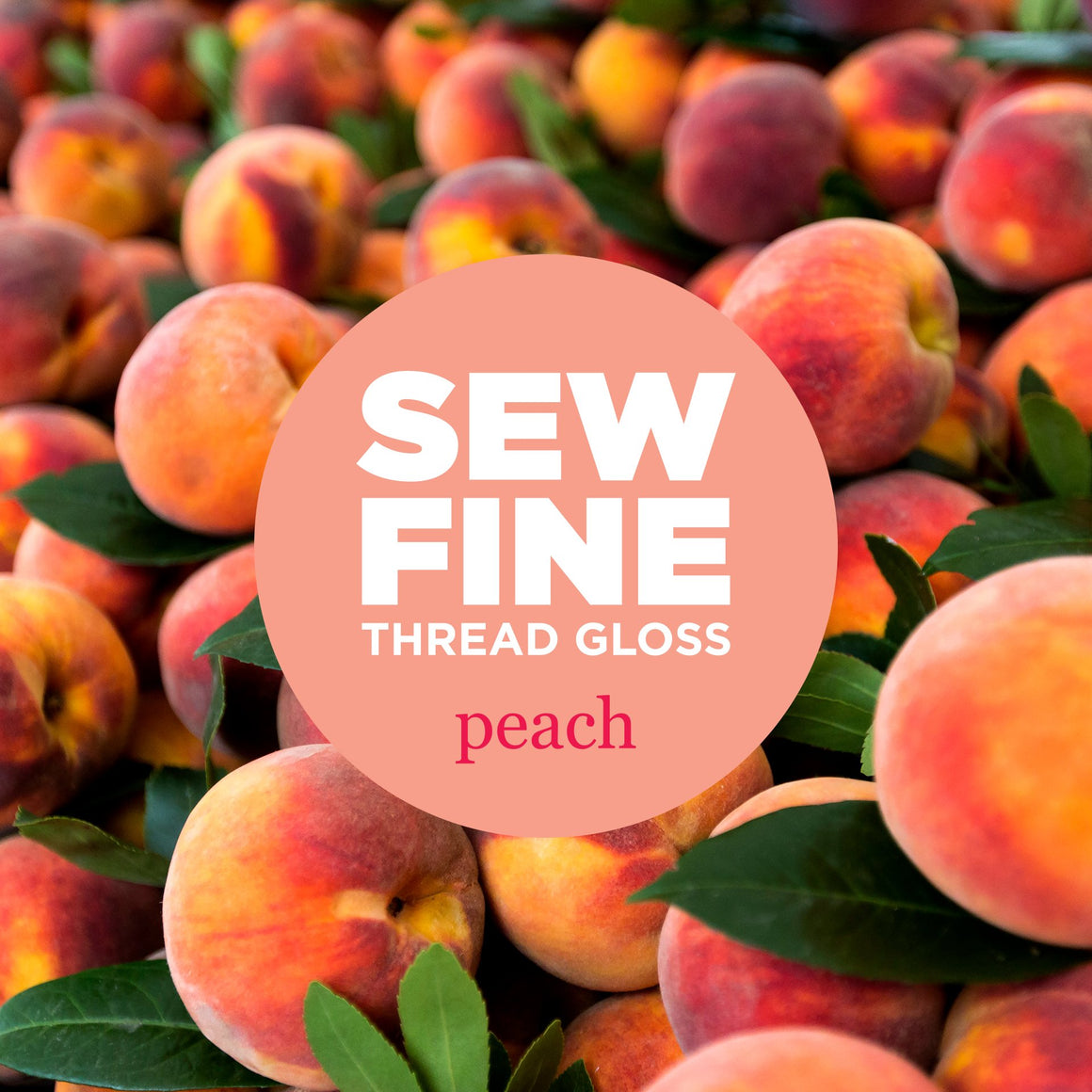 Peach -  Sew Fine Thread Gloss, Notion, Sew Fine, [variant_title] - Mad About Patchwork