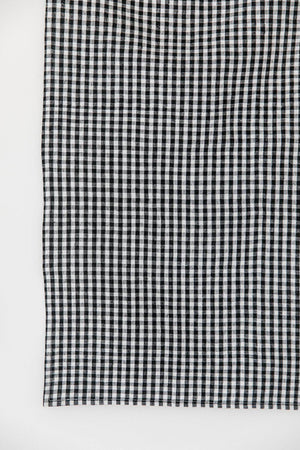Cotton Kitchen Towelling Fabric in Small Black Check - 16In, Specialty Fabric, Mad About Patchwork, [variant_title] - Mad About Patchwork