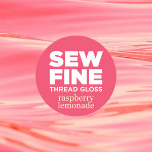 Raspberry Lemonade-  Sew Fine Thread Gloss, Notions, Sew Fine, [variant_title] - Mad About Patchwork