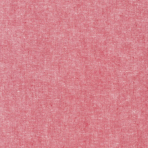 Essex Yarn-Dyed in Red, Specialty Fabric, Robert Kaufman, [variant_title] - Mad About Patchwork