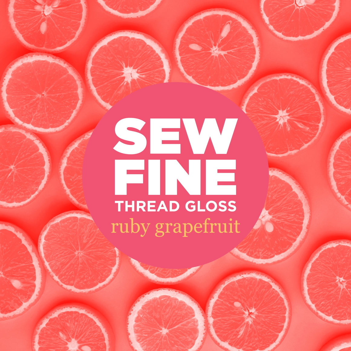 Ruby Grapefruit -  Sew Fine Thread Gloss, Notions, Sew Fine, [variant_title] - Mad About Patchwork