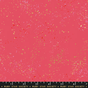 Speckled in Strawberry by Rashida Coleman-Hale of Ruby Star Society for Moda, Designer Fabric, Ruby Star Society, [variant_title] - Mad About Patchwork