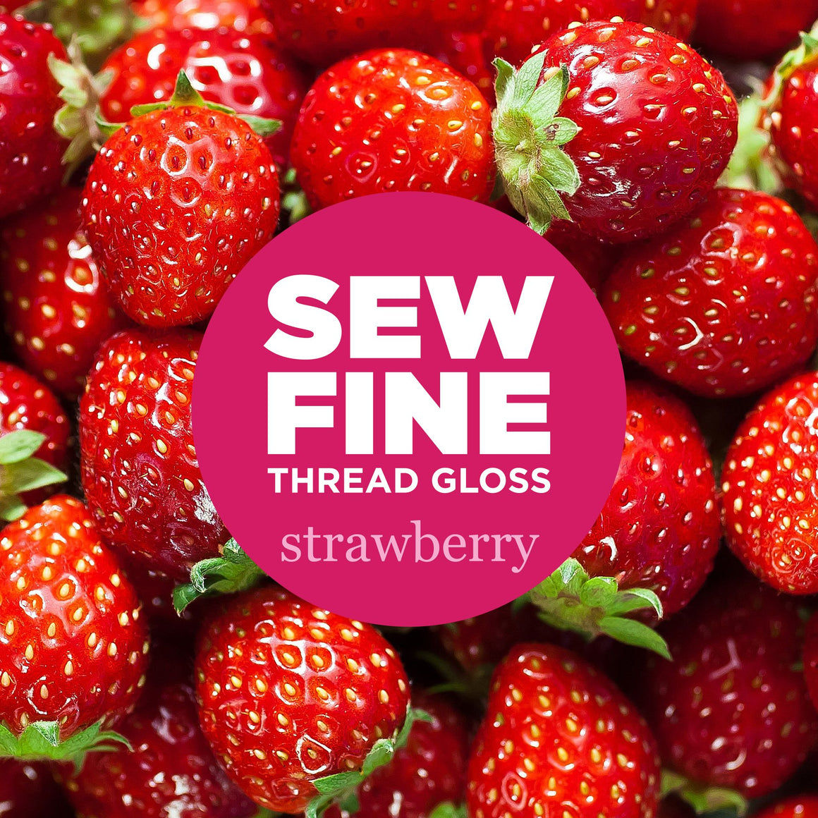 Strawberry -  Sew Fine Thread Gloss, Notions, Sew Fine, [variant_title] - Mad About Patchwork