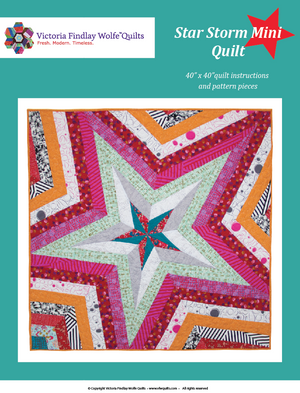 Star Storm Mini Pattern, Pattern, Victoria Findlay Wolfe, [variant_title] - Mad About Patchwork
