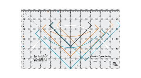 Wonder Curve Ruler - ***NEW RULER*** by Sew Kind of Wonderful, Ruler, Sew Kind of Wonderful, [variant_title] - Mad About Patchwork