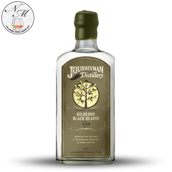 Bilberry Black Hearts Organic Gin (75cl, 45.0%)