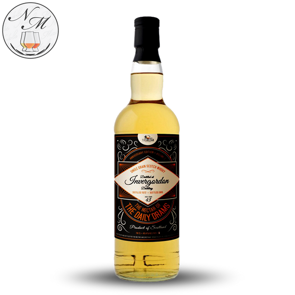 Invergordon 43yo 2016 The Nectar of the Daily Drams (70cl, 49.4%)