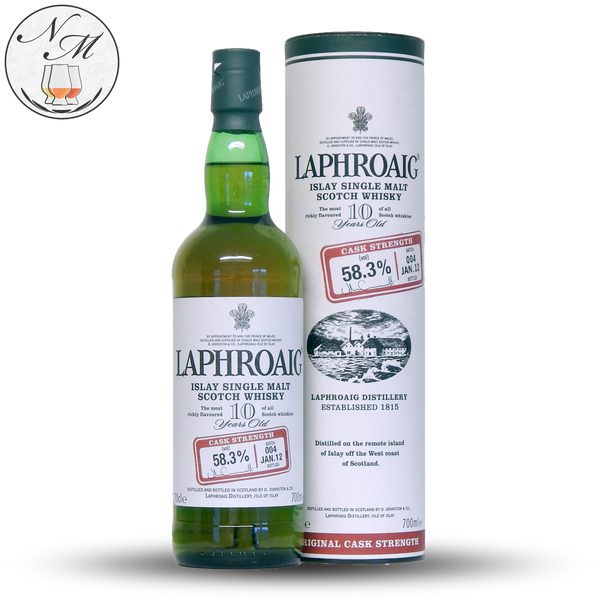 Laphroaig Cask Strength Batch 004