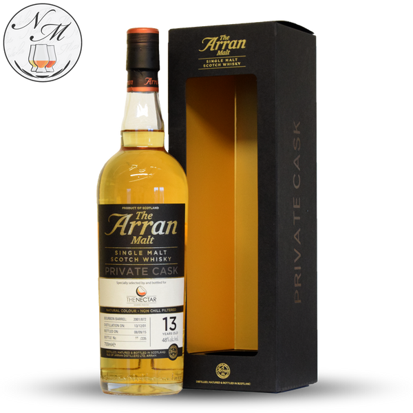Arran 2001 13yo Private Cask