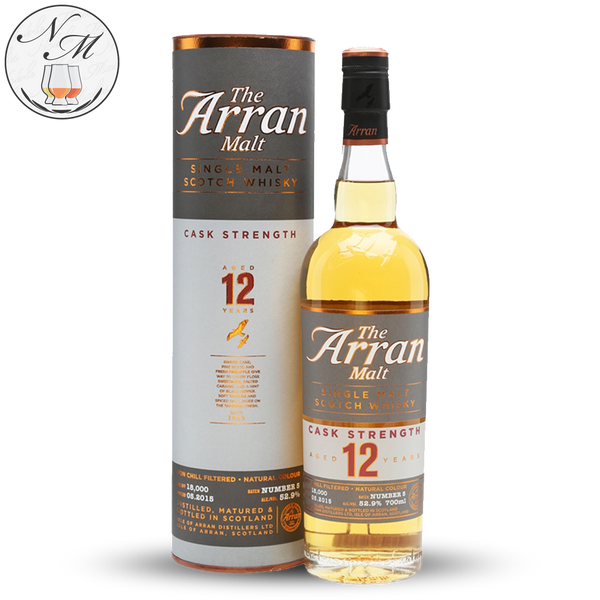 Arran 12yo 5th Edition (70cl, 52.9%)