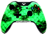 Green Dragon Xbox One Custom Controller