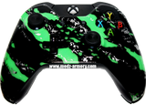 Green Splatter Xbox One Custom Controller