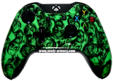Green Zombie Xbox One Custom Controller