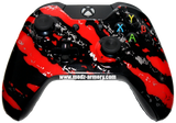 Red Splatter Xbox One Custom Controller