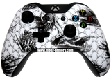 White Dragon Xbox One Custom Controller