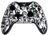 White Zombie Xbox One Custom Controller