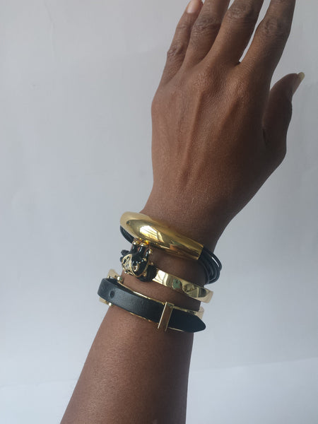 Synthetic Leather Bracelet