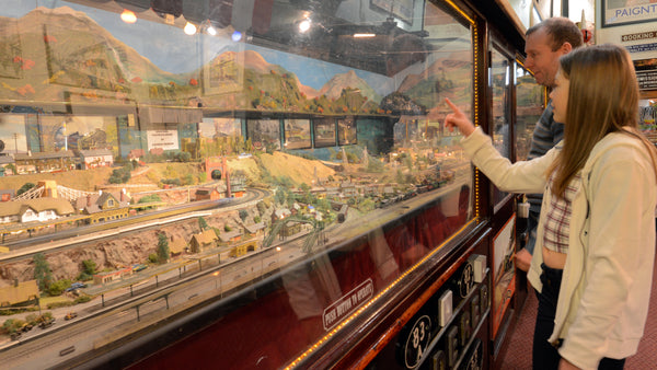 Model railway at Bygones