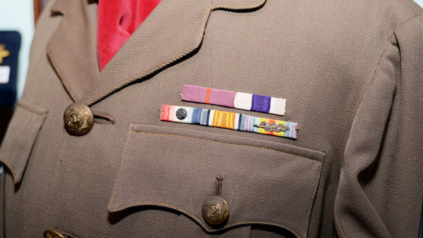 Soliders uniform at Bygones