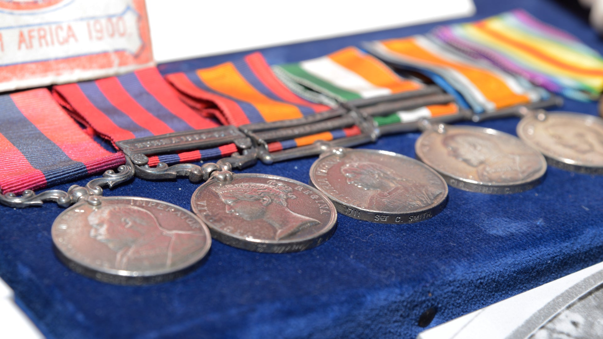 Medals at Bygones