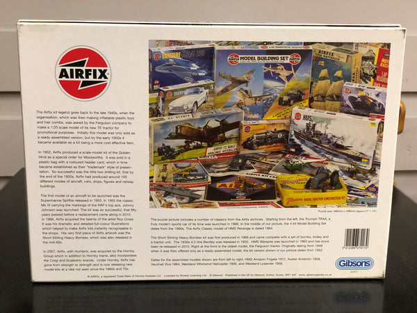 Airfix Through the Ages 1000pc Puzzle