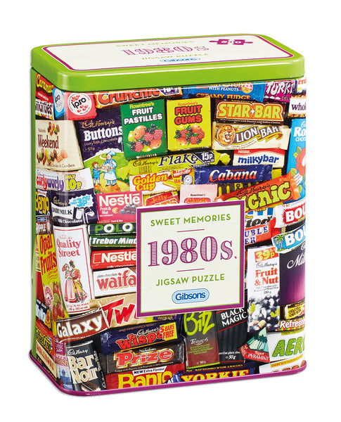 1980s Sweet Memories Jigsaw