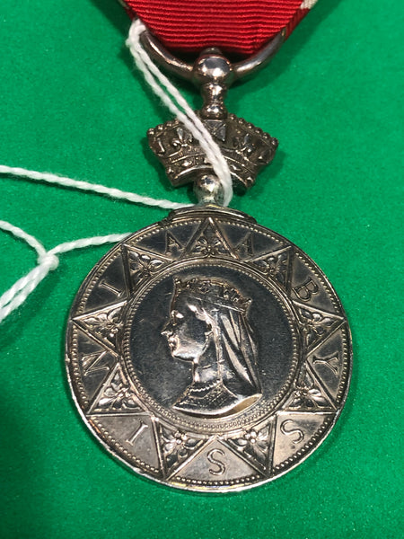 Abyssinia Medal 1867 to RN