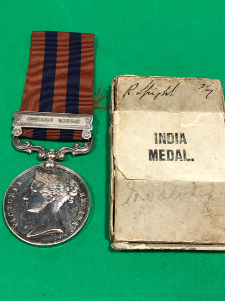 India General Service Medal Jowaki 1877-8 and Afghan Medal Clasp Kabul