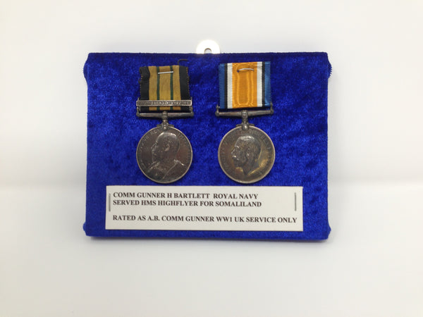 Genuine Africa General Service Medal and WWI War Medal