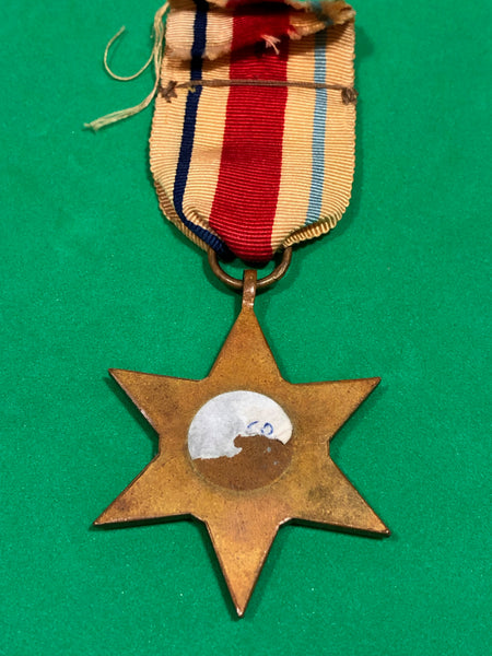 WWII Africa Star Clasp 1st Army