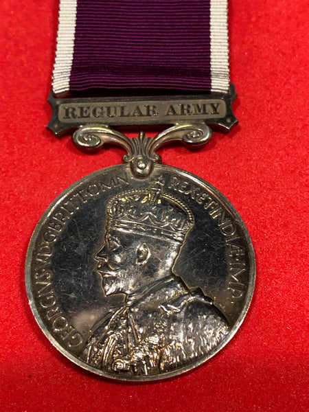 Army Long Service and Good Conduct Medal George V