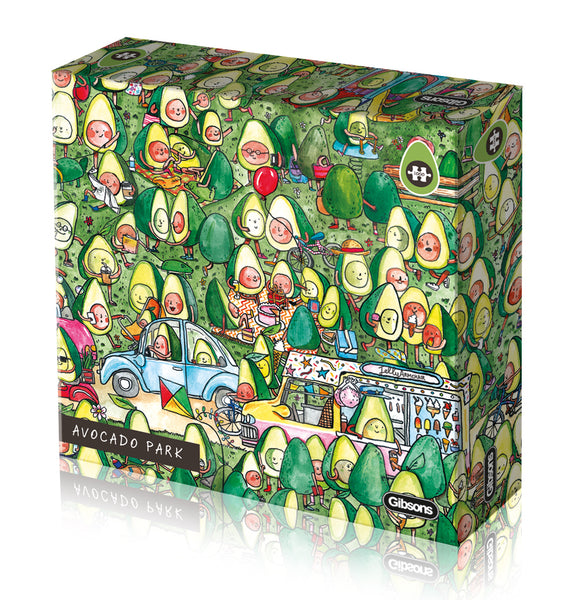 Avocado Park Puzzle 1000pc