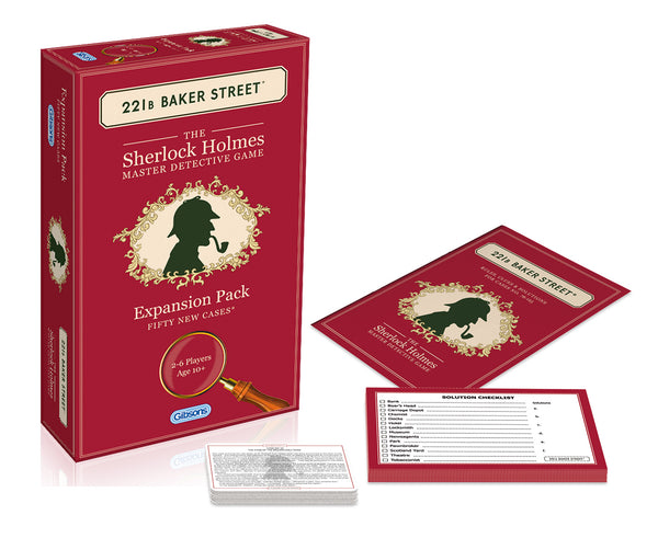 Baker Street Expansion Pack-50 new cases!
