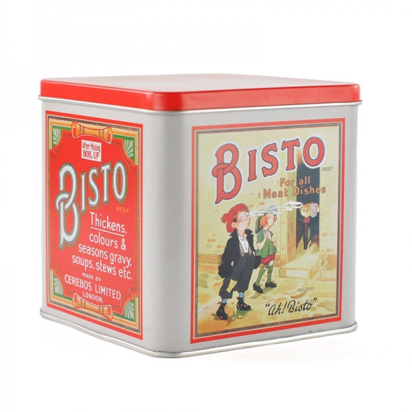 Retro Bisto Advertising Tin