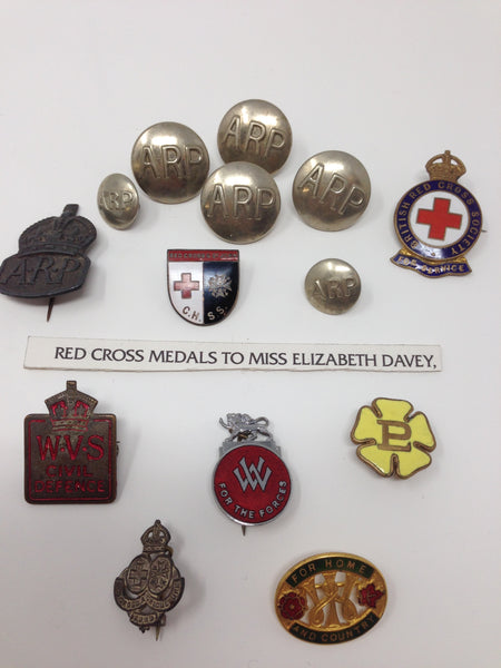 Genuine WWII Nursing Awards and Badges Collection