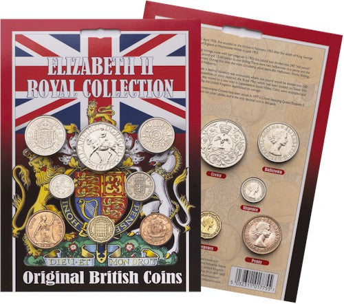 Original Elizabeth II Royal Coin Collection