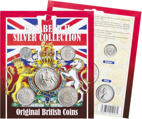 Original Elizabeth II Silver Coin Collection