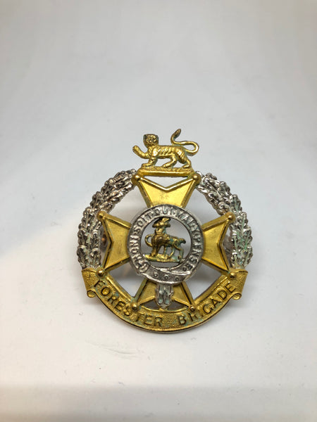 Forester Brigade Officer's Cap Badge