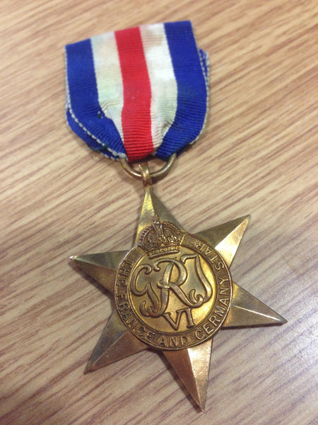 Genuine WWII France and Germany Star