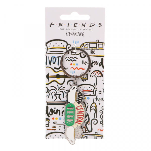 Friends 'Central Perk' Keyring