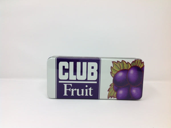 Retro Club Fruit Biscuits Tin